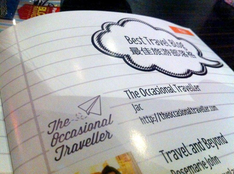 Singapore Blog Awards 2013 Booklet