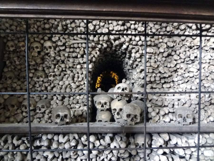 Kutna Hora Sedlec Ossuary Skulls