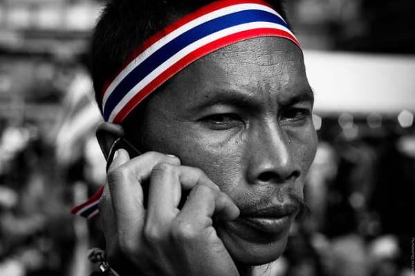 Bangkok Shutdown Portrait