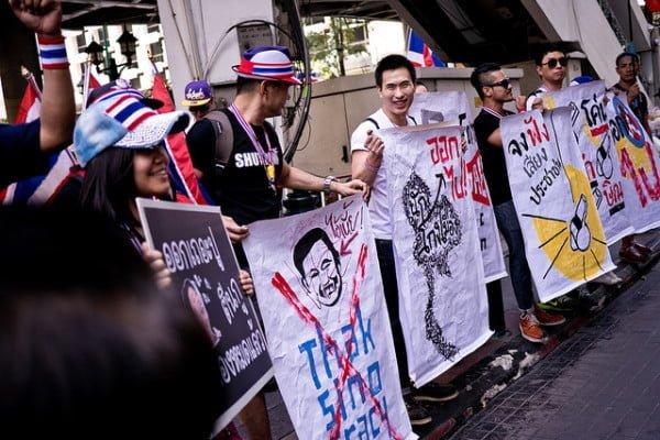 Bangkok Shutdown Protesters