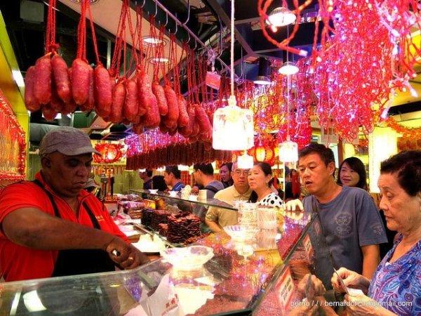 Bak Kwa Chinatown Singapore