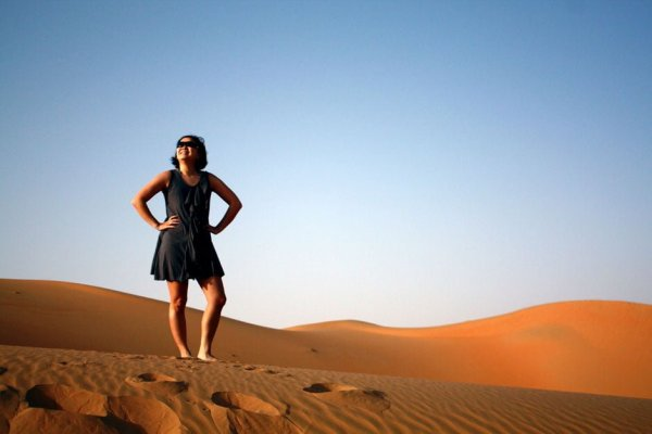 Jac in Liwa Desert UAE