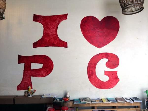 Penang Street Art - I Heart PG