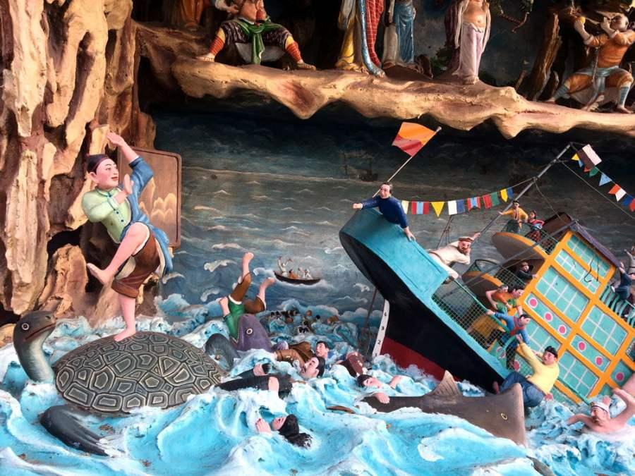 Haw Par Villa Fable Turtle Shipwreck