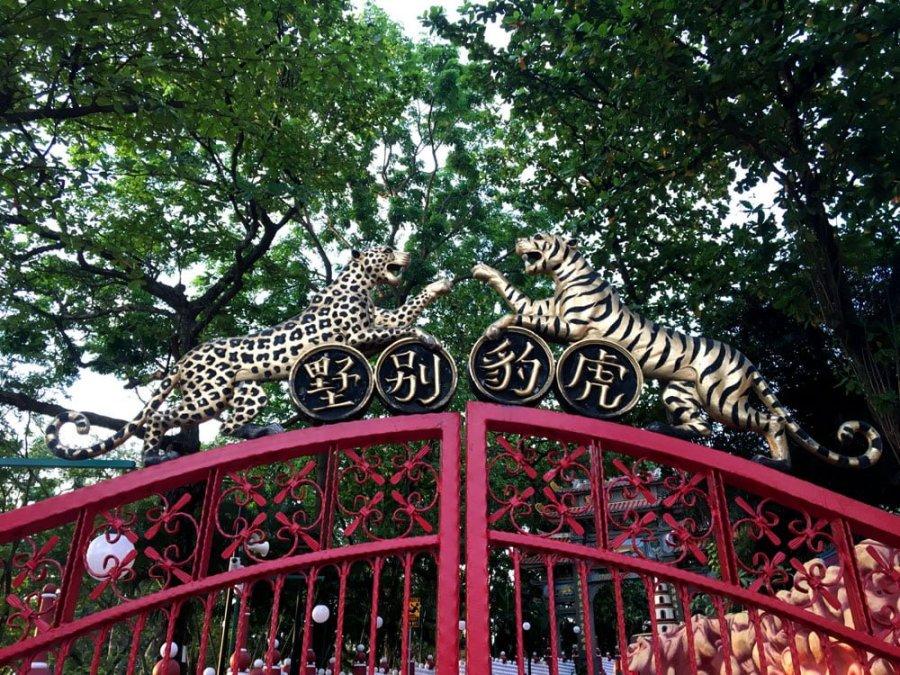 Haw Par Villa Red Gate Animals