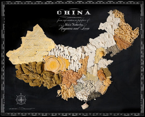 Food Maps by Henry Hargreaves and Caitlin Levin - China