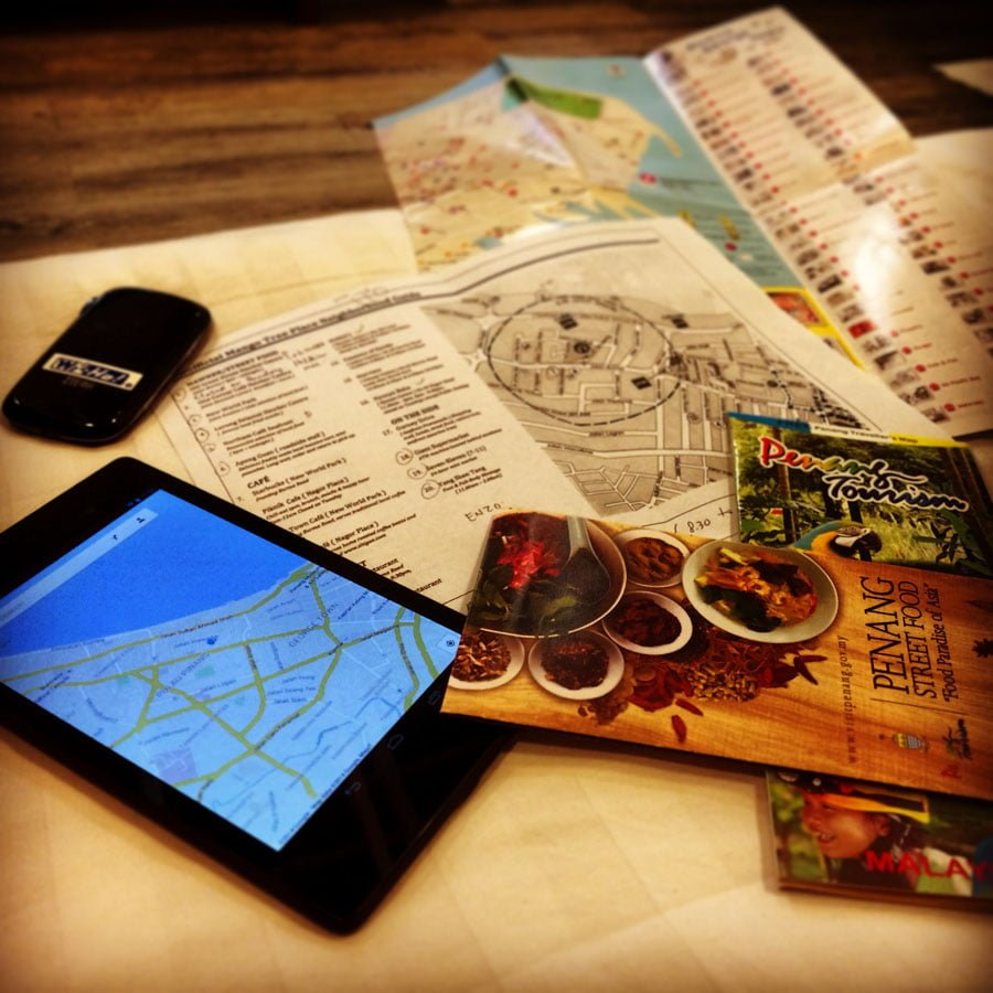 Trip Planning with the Google Nexus 7 and Wiho