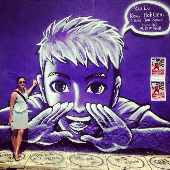 Penang Street Art - Hokkien