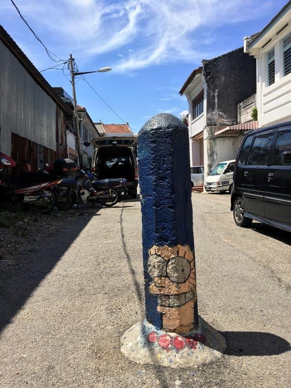 Penang Street Art - Lorong Soo Hong Marge Simpson
