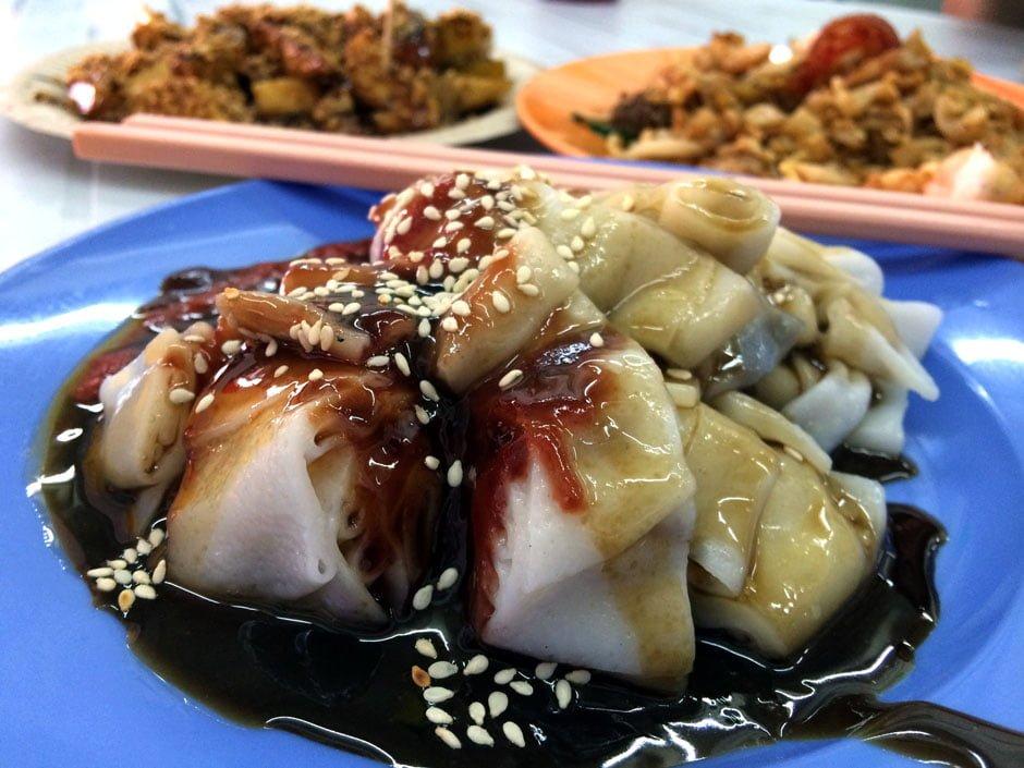 Penang Food - chee cheong fan lorong selamat