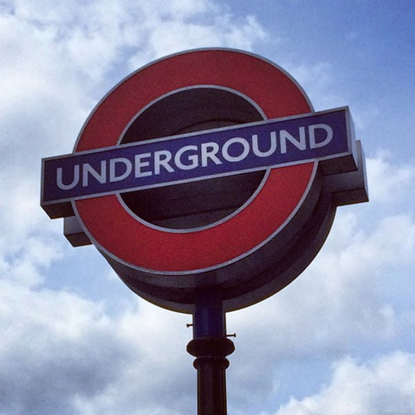 London Work Trip - Underground Tube