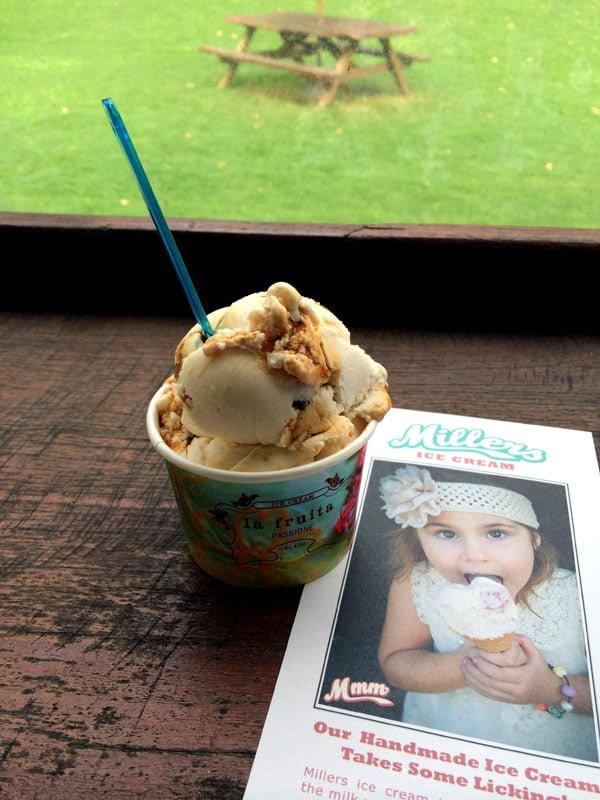 Perth Margaret River Millers Ice Cream Scoop