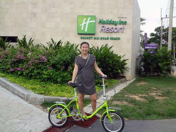 Holiday Inn Phuket Mai Khao Bicycle Entrance