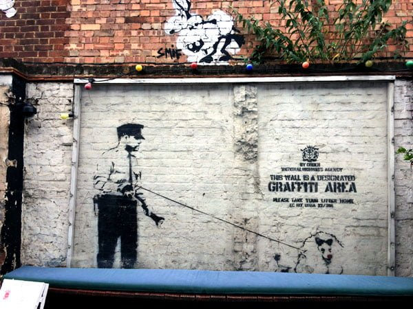 London Street Art - Banksy