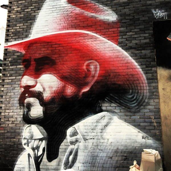London Street Art - Elmac