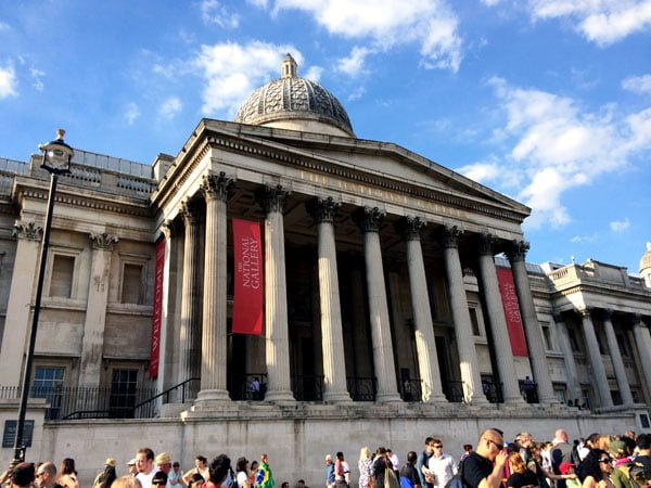 London Work Trip - National Gallery