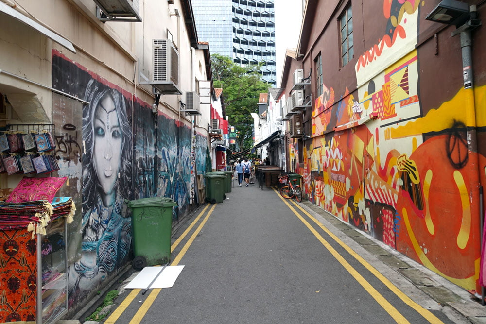 Singapore Street Art Haji-Arab Linkway