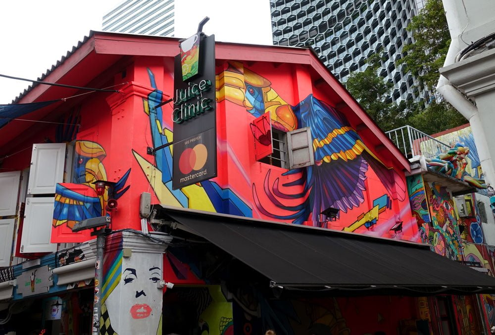 Singapore Street Art Juice Jaba Bird