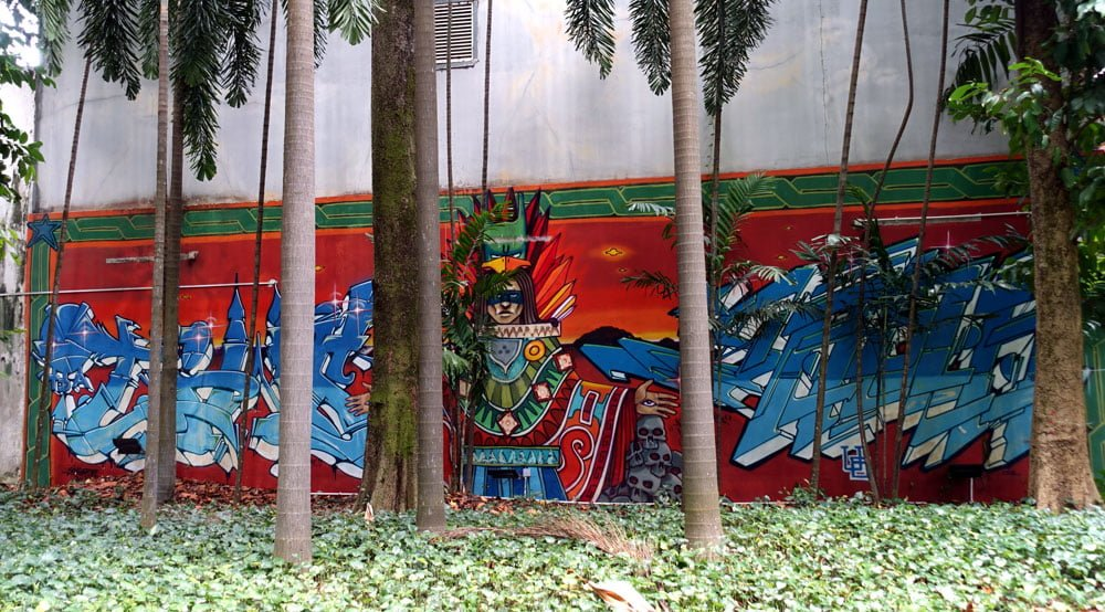Singapore Street Art Ophir PiedraNegra Jaba Warrior