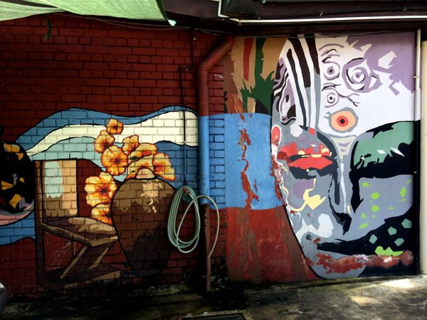Singapore Street Art - Sultan Arts Village Face