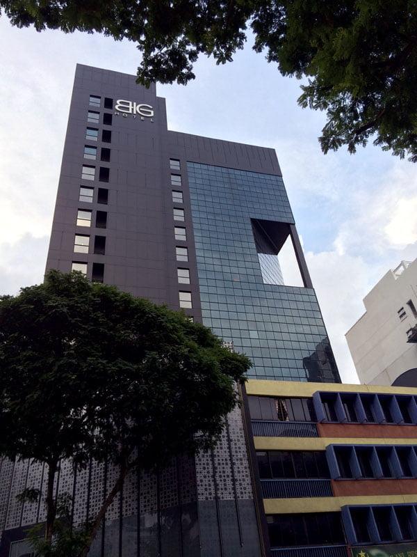 Big Hotel - Facade