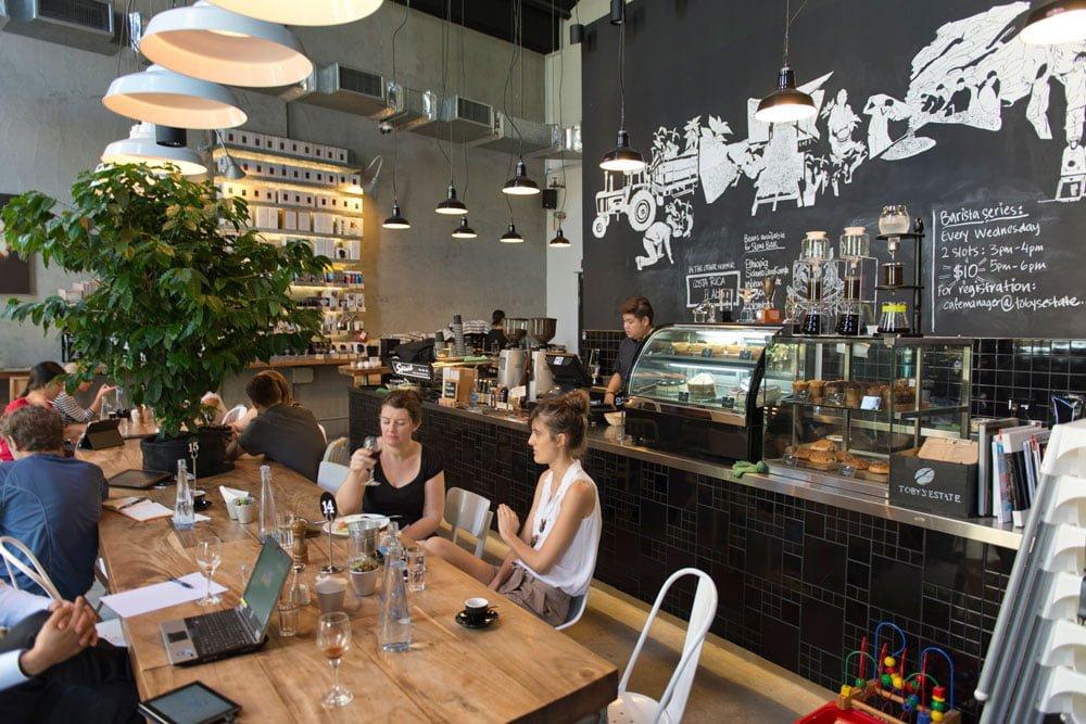 Singapore Cafe Tobys Estate