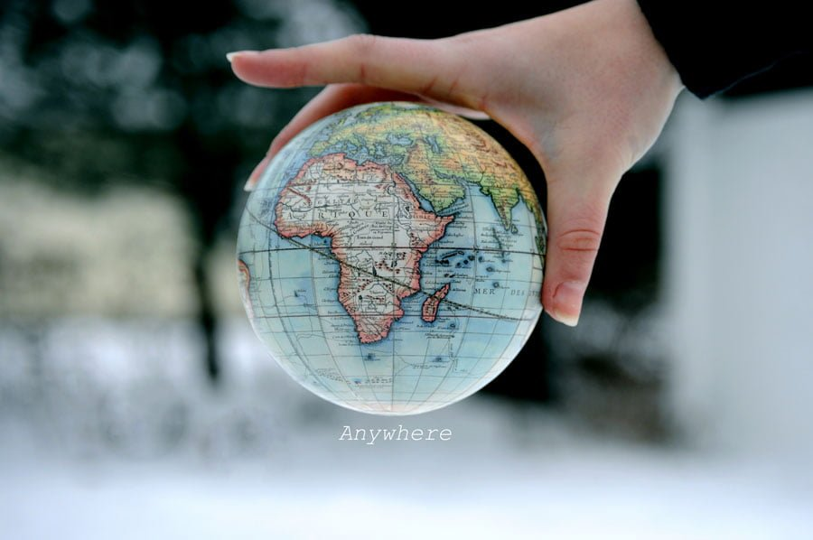 Travel at Home - Globe