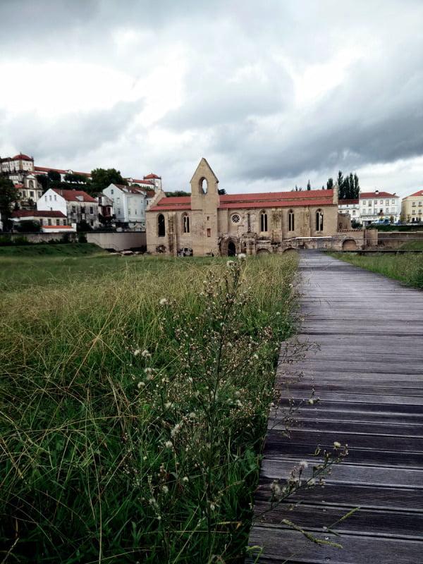 Portugal - Coimbra Santa Clara a Velha Path