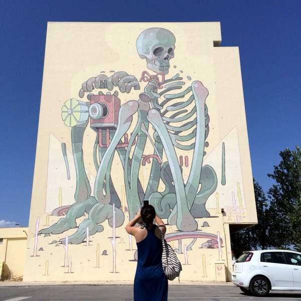 Portugal - Lagos Street Art Aryz