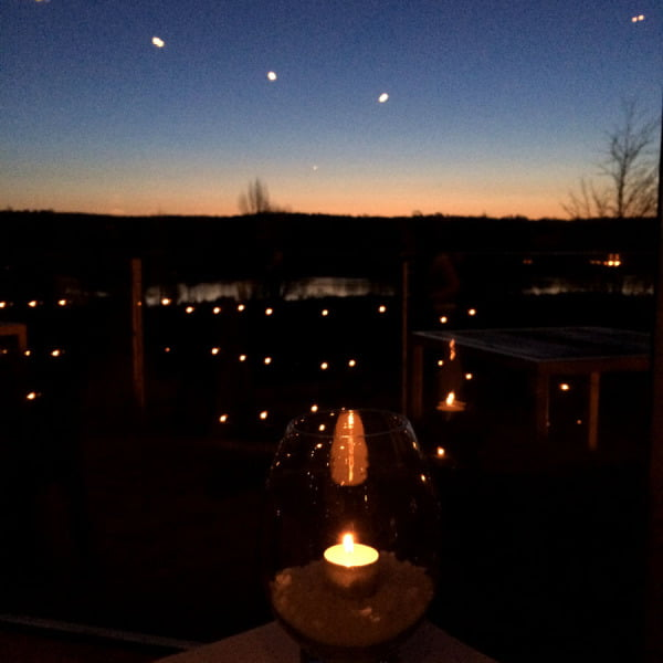 Daylesford Sault Candle Sunset