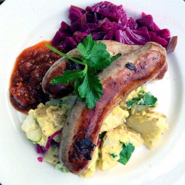 Daylesford St Erth Food Sausage Eggs
