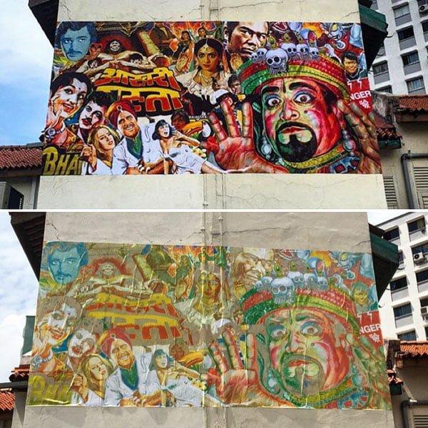 Singapore Street Art - Mojoko Belilios Lane