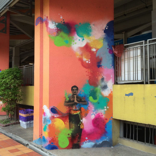 Singapore Street Art - TraseOne Classical 1