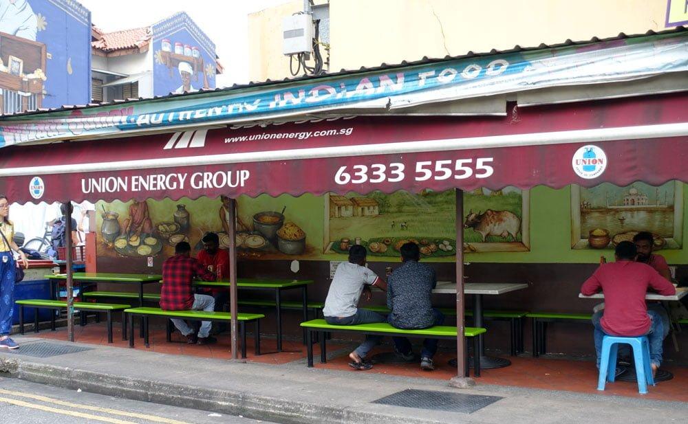 Singapore Street Art YipYC Village Curry