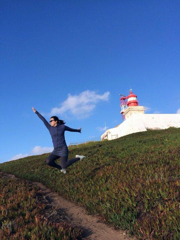 Portugal - Cabo da Roca Jumpshot Kickup