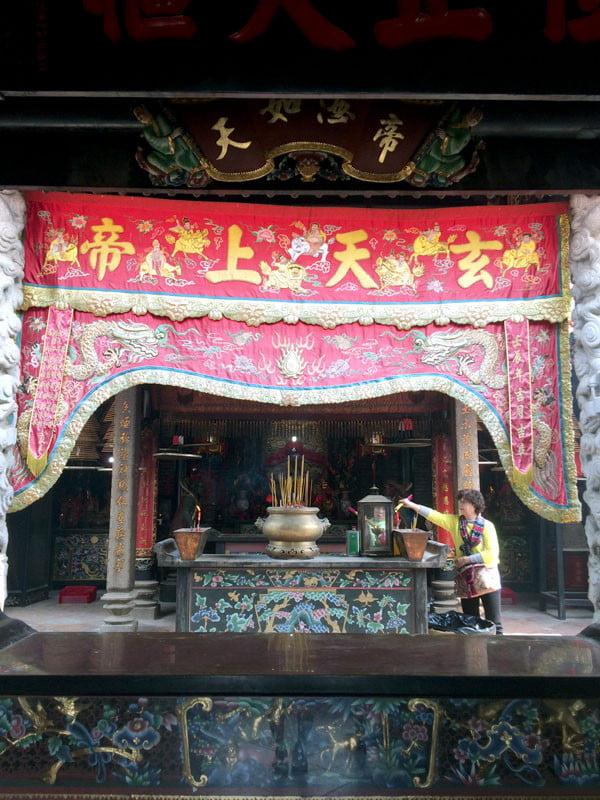 Hong Kong Cheung Chau - Pak Tai Temple Interior