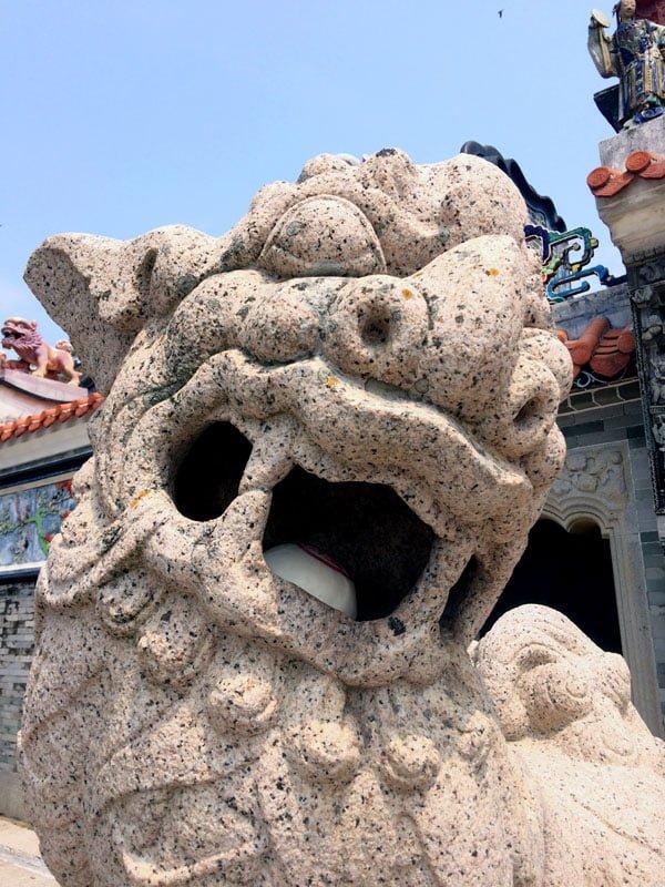 Hong Kong Cheung Chau - Pak Tai Temple Lion