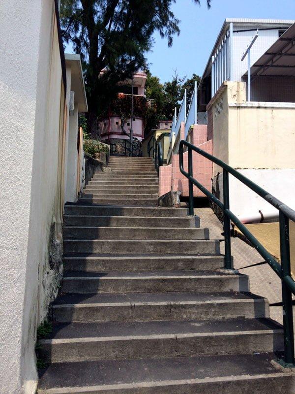 Hong Kong Cheung Chau - Stairs