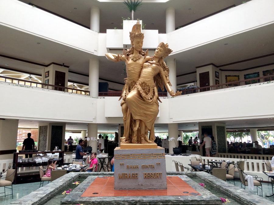 Bali Grand Mirage Resort Statue