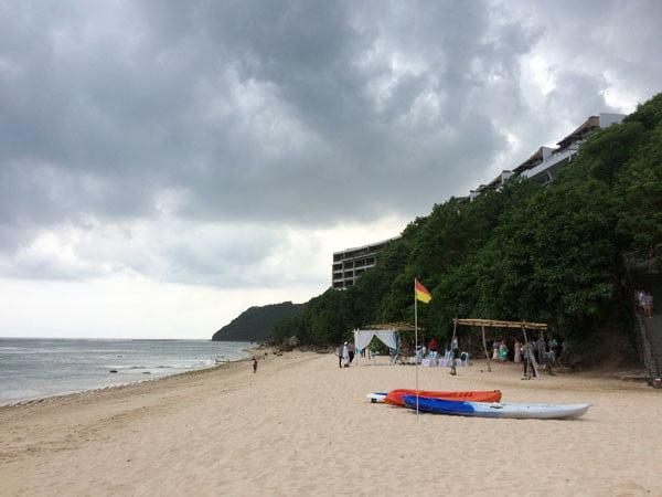 Bali Samabe Kayak Overcast