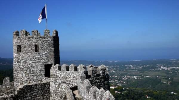 Portugal - Sintra Moorish Castle Turret