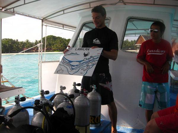 Club Med Kani Maldives Dive Briefing