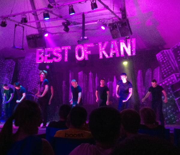 Club Med Kani Maldives Performance Stage