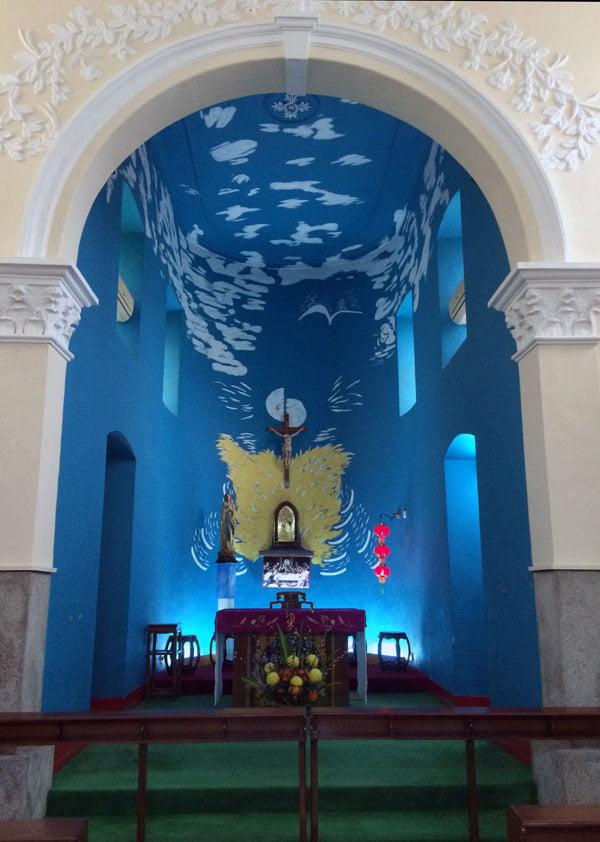 Macau Coloane Church Interior