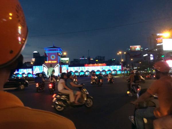Vietnam Ho Chi Minh Vespa From the Bike