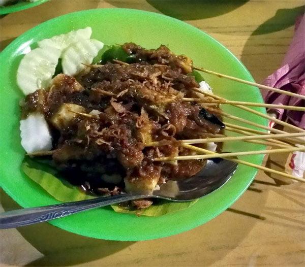 Bintan Akau Satay