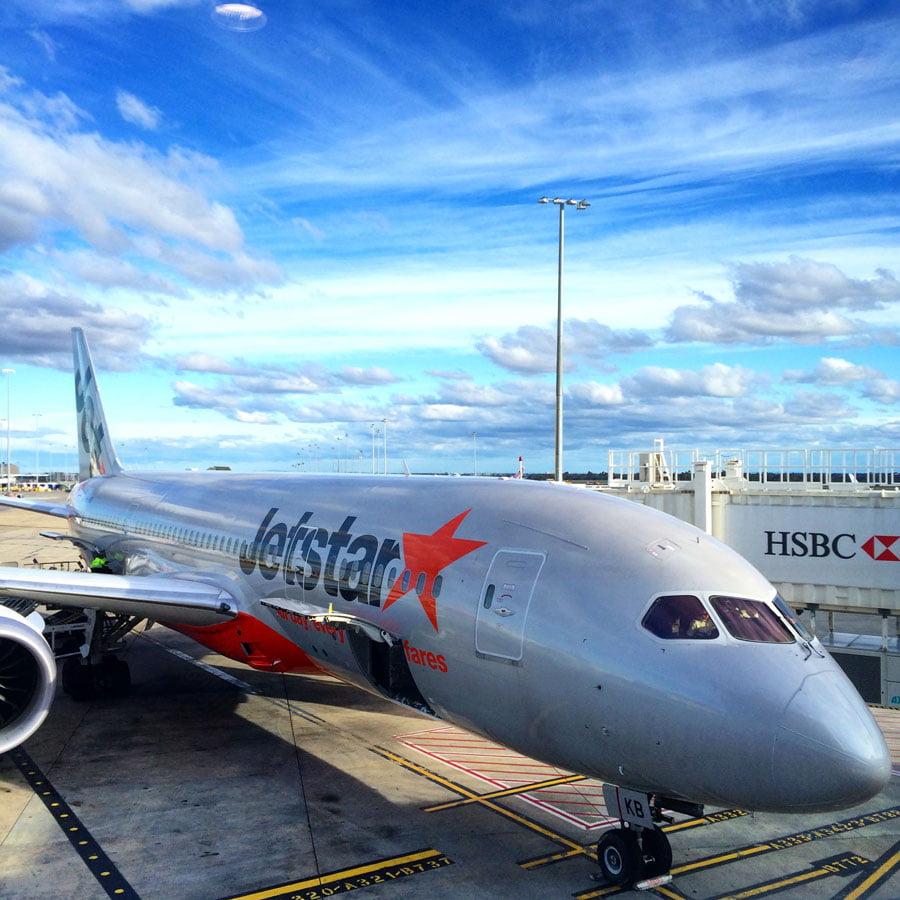 Jetstar Dreamliner 787 Singapore-Melbourne
