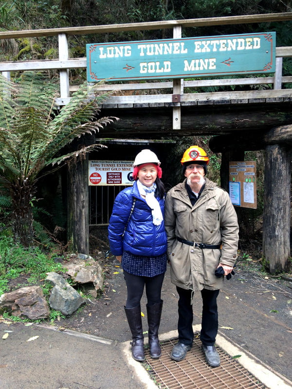 Gippsland Walhalla Long Tunnel Extended Mine Tour with Guide