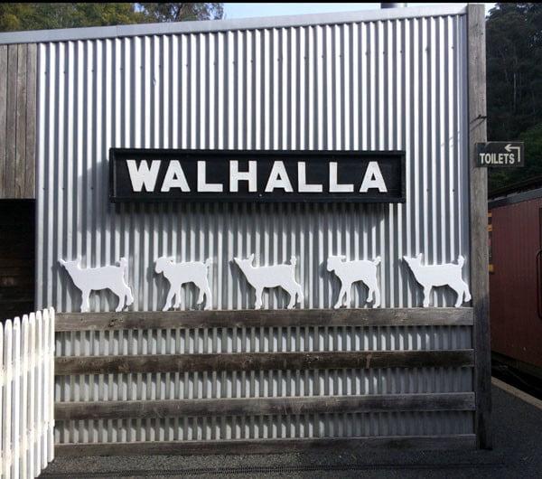 Gippsland Walhalla Train Walhalla Station
