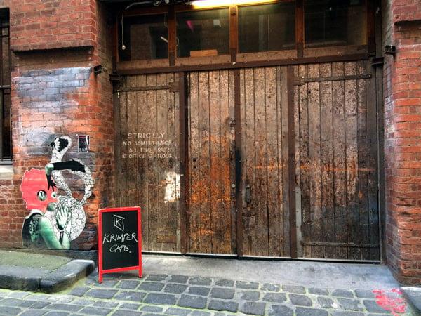 Melbourne Krimper Cafe Exterior